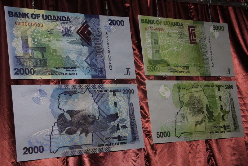 Bank of Uganda New Bank Notes Launch