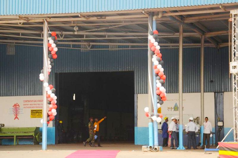 MMI Steels Plant Launch